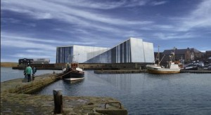 Artists Impression of Mareel - Shetland's new Cinema and Music Venue - Picture: Shetland Arts and Gareth Hoskins Architects