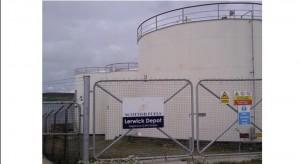 Lerwick Oil Depot